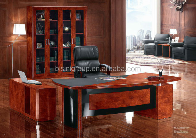Luxury Wooden Office Desk Executive Furniture Bf08 0201