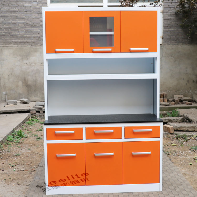Kitchen Furniture Mini Kitchenette Steel Kitchen Cabinet