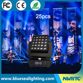4 In 1 RGBW Led 25X15W Moving Head Light Stage Effect Robot