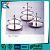 18/10 stainless steel high quality durable three layers fruit basket for hotel supplies