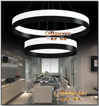Simple Contemporary Led Light,Suspension Light Fixture,Circle ...