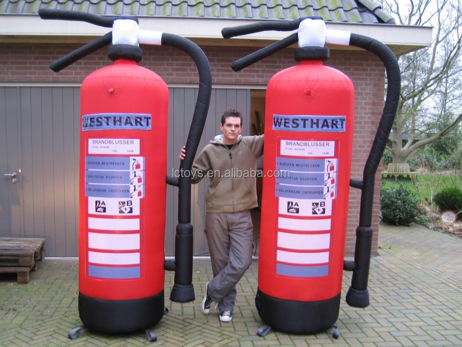 Decorative Fire Extinguisher inflatable fire extinguisher, inflatable fire extinguisher