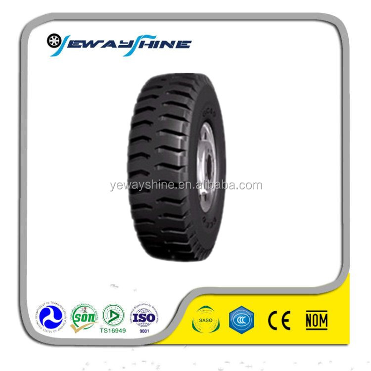 high quality OTR tire E3/L3 pattern with DOT ECE size 25.5R25 radial tire