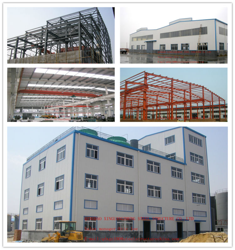 china light steel structure warehouse draw