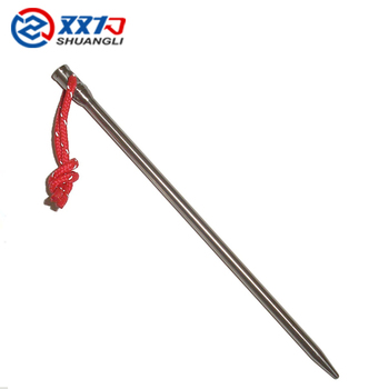 Camping Hiking Products titanium for tent peg