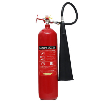 Reliable fire fighting equipment 9kg red color fire extinguisher spare parts co2 fire extinguisher