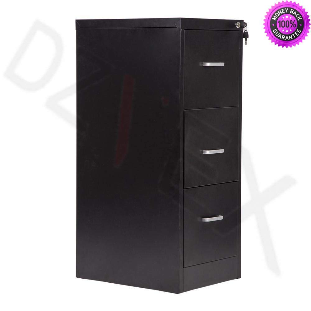 "DzVeX_New 3-Drawer Letter File,Full-Suspension 18"" Wide Filing Cabinet with Lock And filing cabinets wood file cabinets file cabinets lateral file cabinets file cabinets staples drawer"