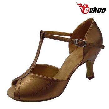 14b5bd870 evkoodance fashion hot selling wholesale shoes women high heel ballroom  dance shoes Latin shoes satin leather