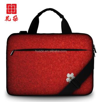 Custom Laptop Shoulder Bag 11.6 13.3 15.6 inch canvas Sleeve Carry Case for  MacBook Pro Air e98349e3a1