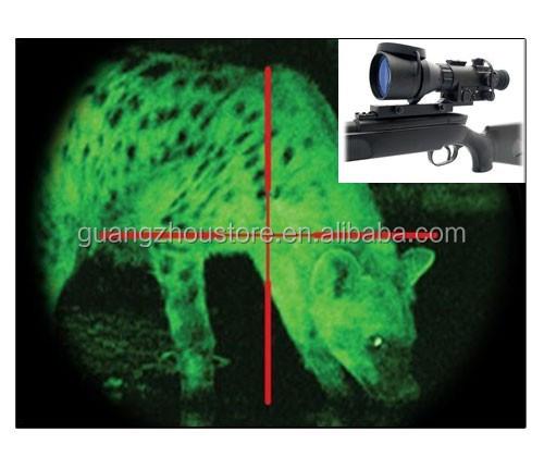 GZ27-0009 Aries ATN Malam Vision Rifle Cakupan Gaya 2.5X Inframerah Berburu Lingkup Penglihatan Malam