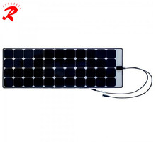 12V Sunpower super thin solar cell 130w Mono solar panel