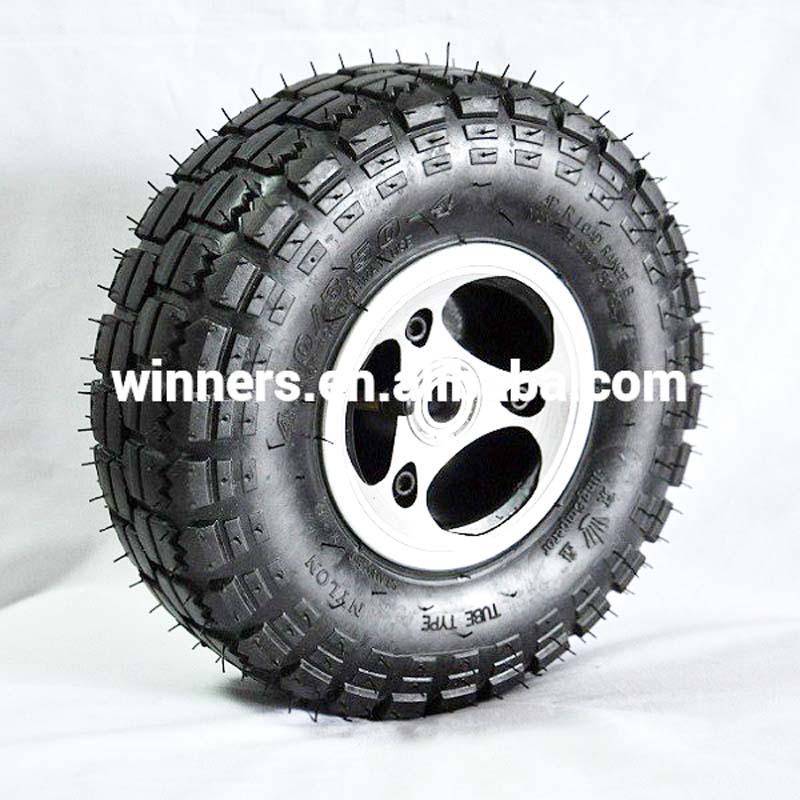 10 inch mini go kart scooter Atv wheel 4.10/3.50-4