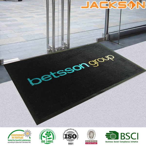 Wholesale Water Absorbing Office Custom Commercial Printed Floor Mats