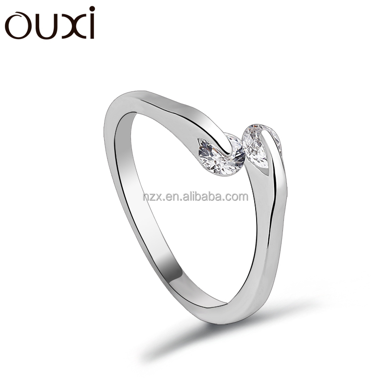 OUXI 2015 Jewely fashion rings crystal finger ring 40075