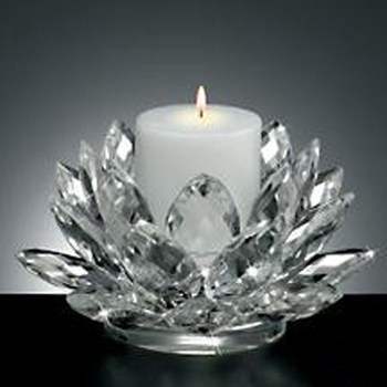 Cl Candle Glass