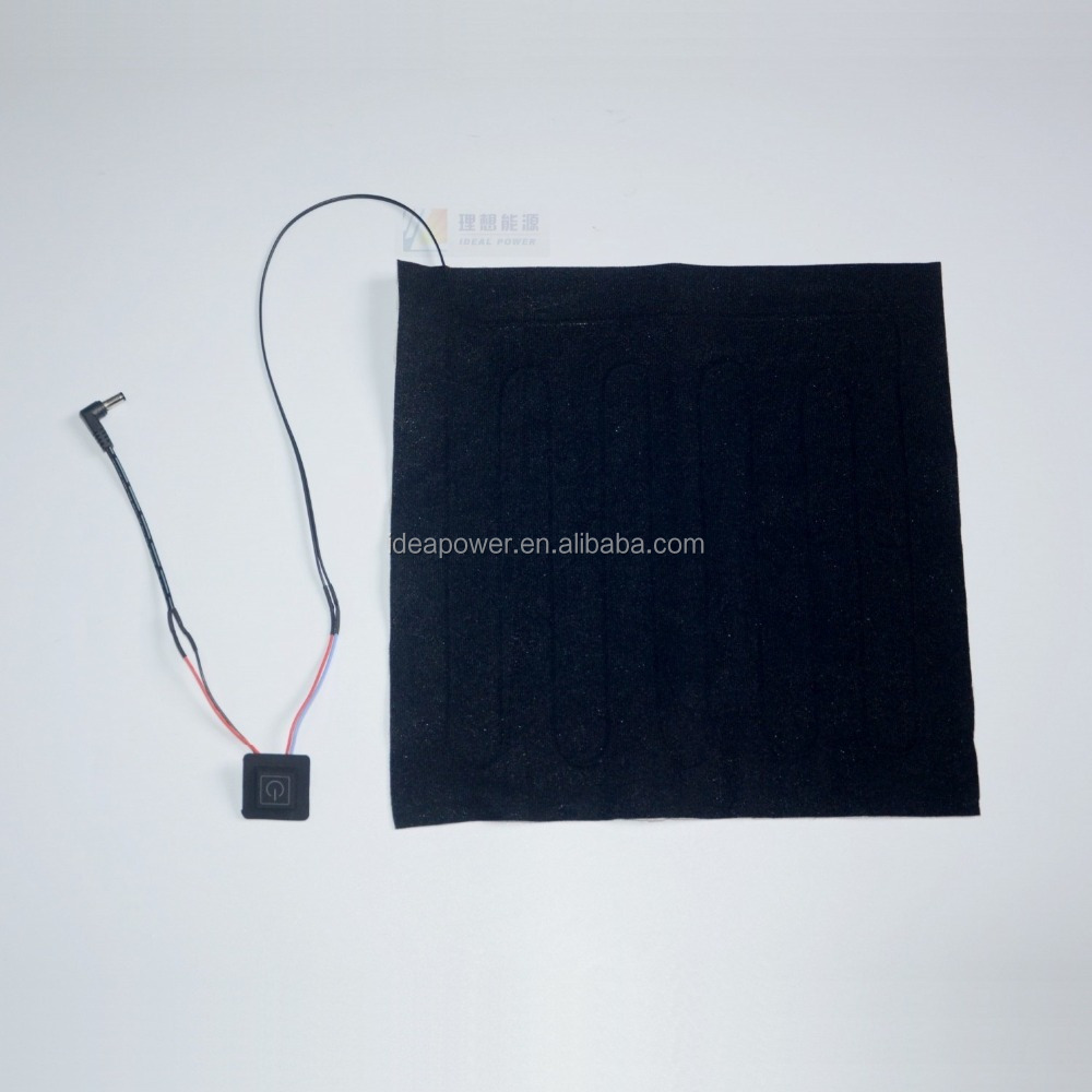 Rechargeable Battery Heating Pad for Seat Cushion