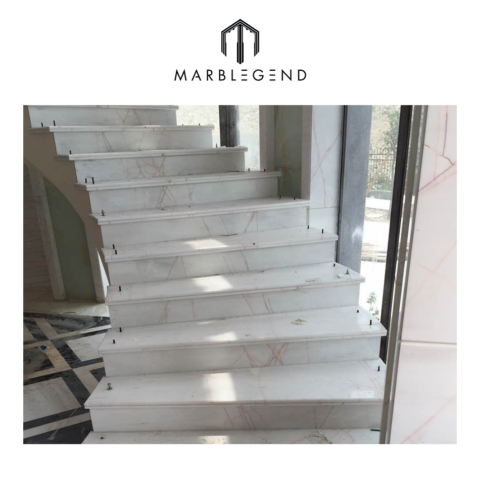 Grooved Building Marble Tiles