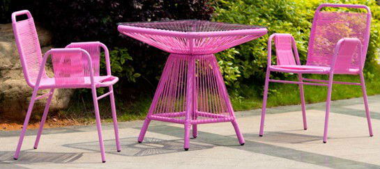 Rattan Chair Outdoor Furniture/ Colourful Acapulco Chair Dinning Table And  Chair   Buy Rattan Chair Outdoor Furniture,Acapulco Chair,Rattan Dining  Table And ...