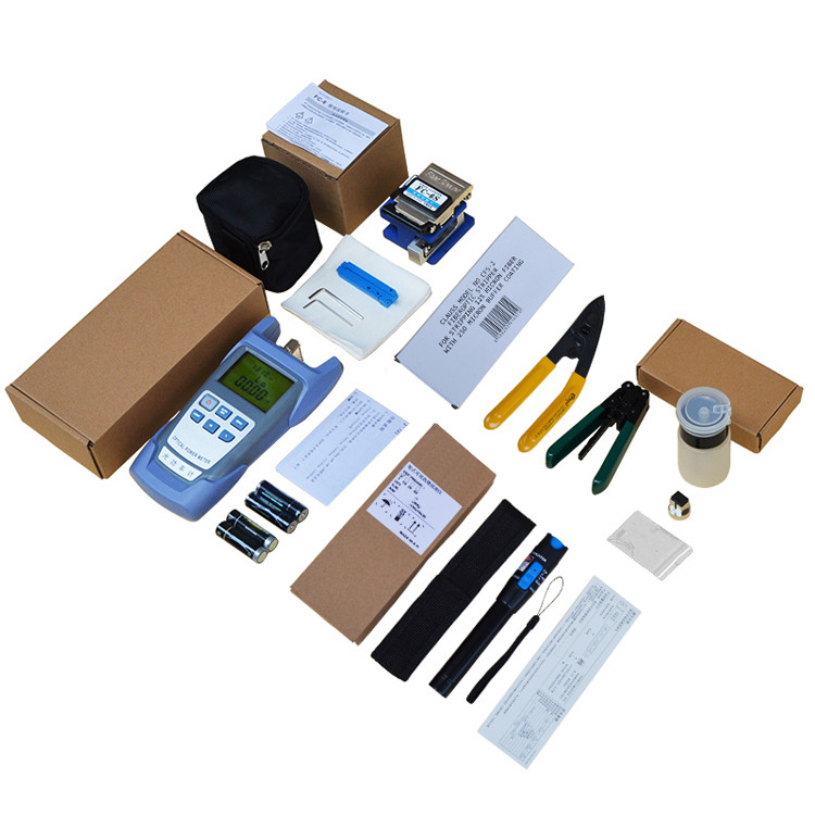 Construction and Installation Fiber Optic Tool Kit for FTTH Drop Cable