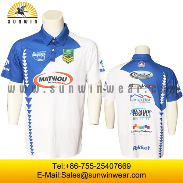 aafc6edde9d New Design Custom Sublimation Polo Shirts