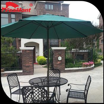 3 3m Outdoor Folding Garden Umbrella Sun Parasol Gazebo Shade Tent