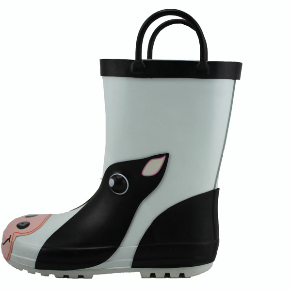 Cute Rubber Rain Boots - Boot Hto