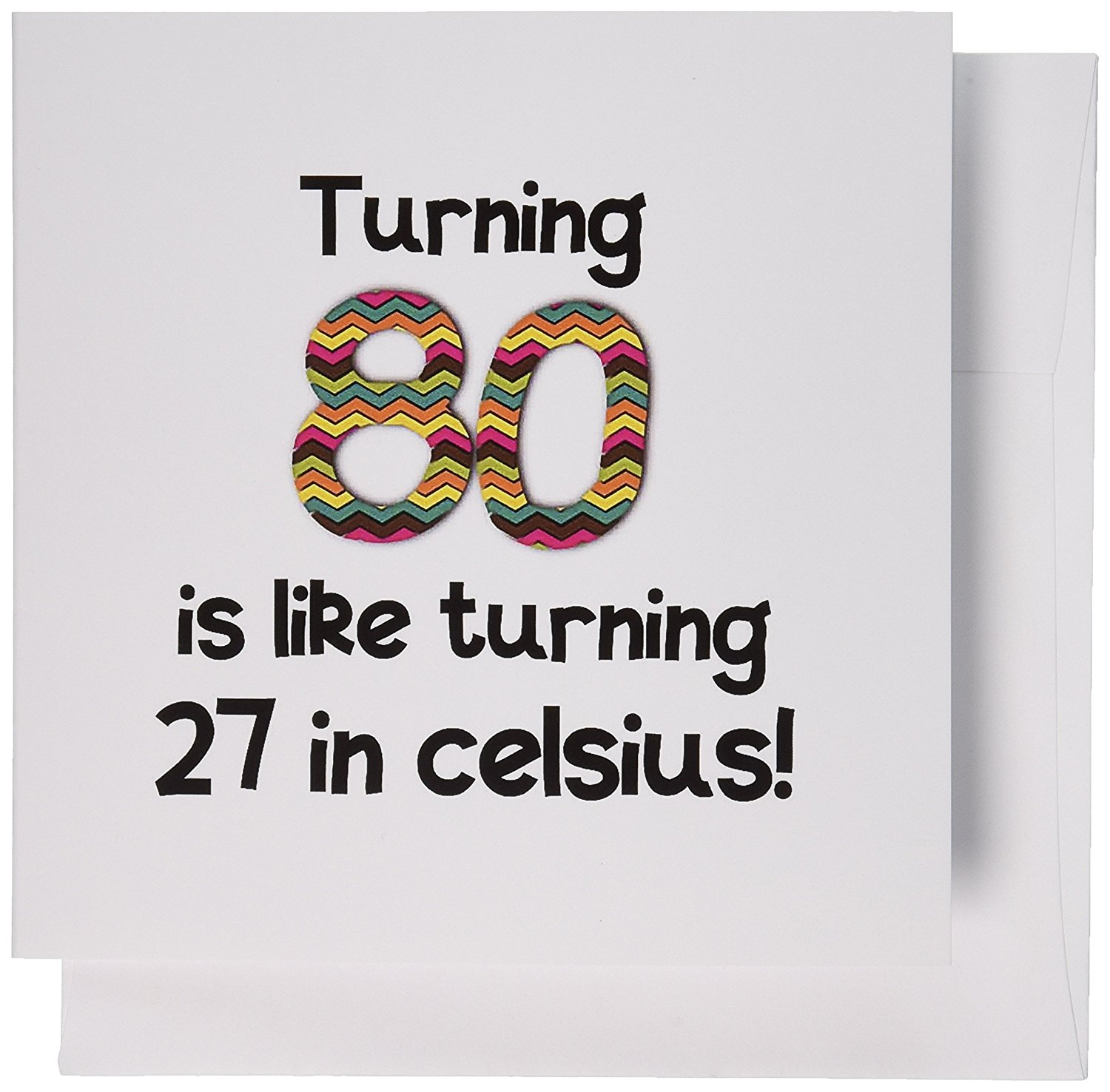 Cheap 80th birthday cards find 80th birthday cards deals on line at get quotations 3drose turning 80 is like turning 27 in celsius humorous 80th birthday gift greeting m4hsunfo