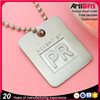 China factory supply cheap metal anodized aluminum dog tag