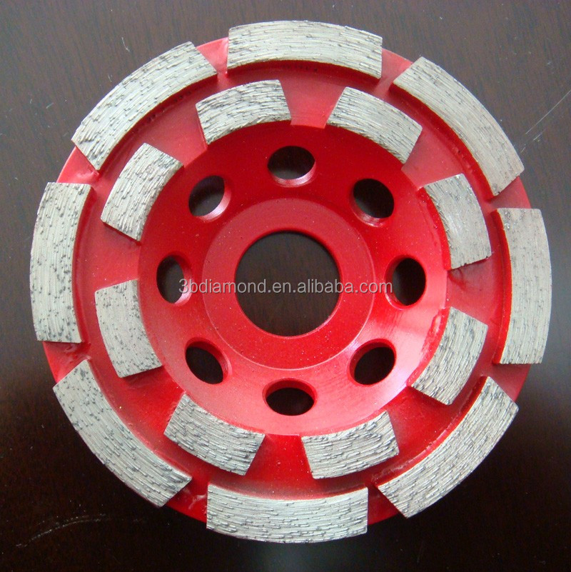 Different sizes and shapes diamond grinding cup wheel/disc