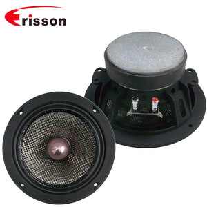 High end OEM 6.5'' 100w car woofer Speaker with bullet Carbon Fiber Cone For Car