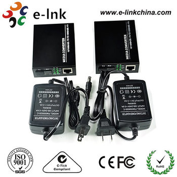 10/100M 2 Fiber Port Media Converter for ring network solution