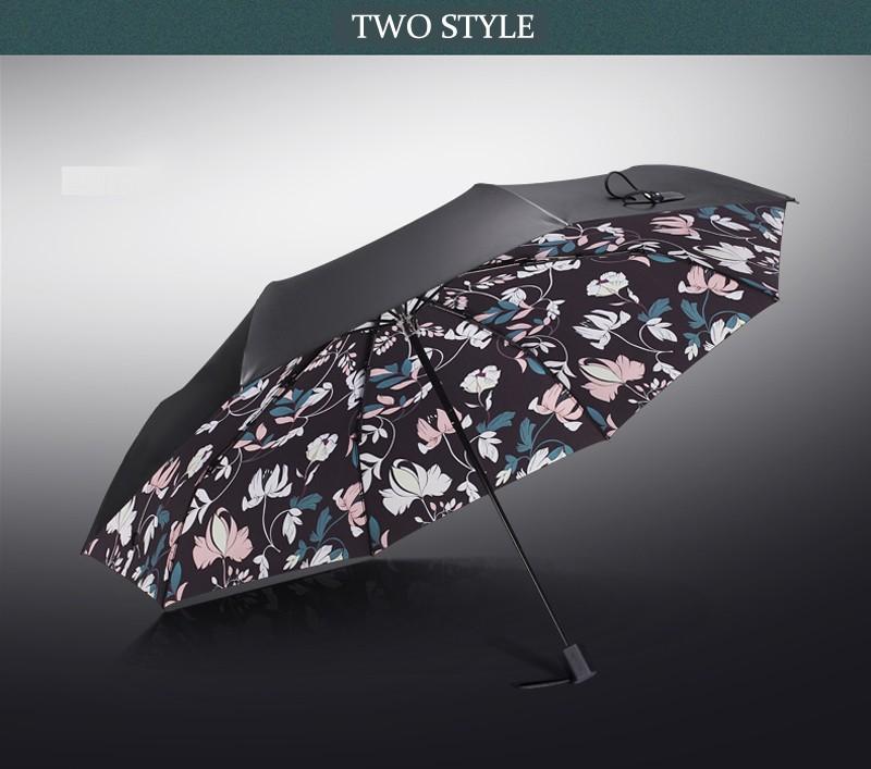 433153e5229a31 High Quality Black Coating Anti UV Sun Umbrella Sunny and Rainy Dual-use  Male Women Umbrella Fashion Brand Parasol - us386