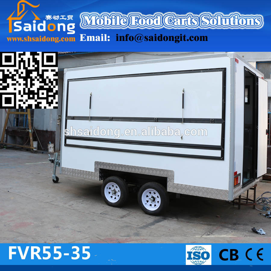 Cheap mobile food carts fast yeegoole cheap price and - Remorque cuisine mobile ...