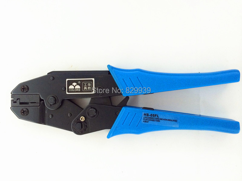 4.8-6.3 mm2 Flag F Ear Type Female Receptacles Insulated Terminals Crimper