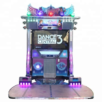 55 Inch Led Push Coin Game Dance Dance Revolution Arcade ...