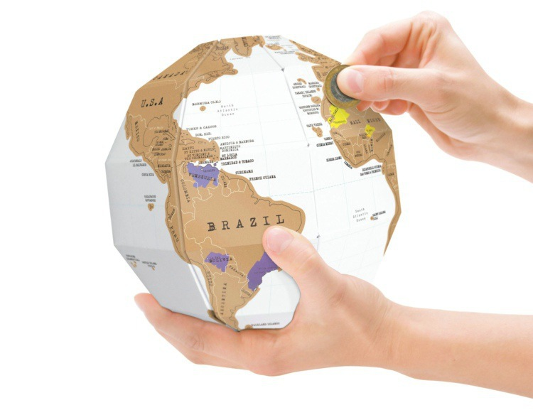 Cheap 3d globe map find 3d globe map deals on line at alibaba get quotations free shipping 1piece novelty funny scratch off map travel scratch globe world map home gumiabroncs Choice Image