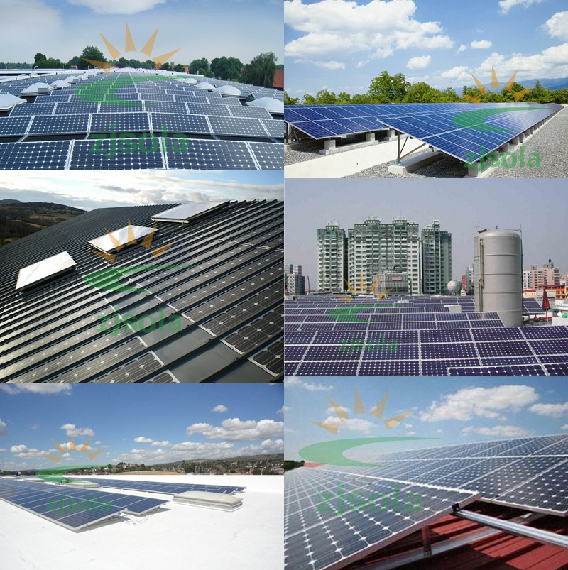 zjsola solar panel 250w 260w 500w 1000w solar pv panel panneau solaire 250 watt buy solar. Black Bedroom Furniture Sets. Home Design Ideas