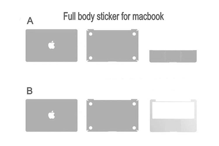 Cheap Price 13 Inch Full Body Laptop Skin Sticker For Macbook Pro ...
