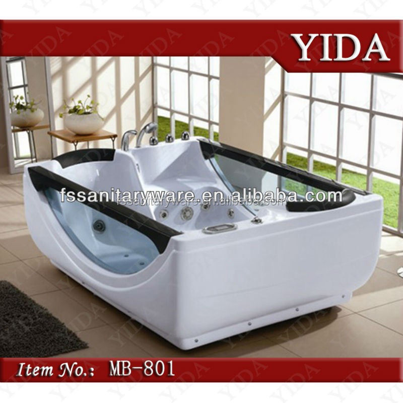 2 Person Indoor Hot Tub,Massage Bath Tub For Hotel/family,Red Tub ...