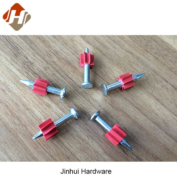 PD concrete shooting nail drive pin with plastic washer similar hiliti products