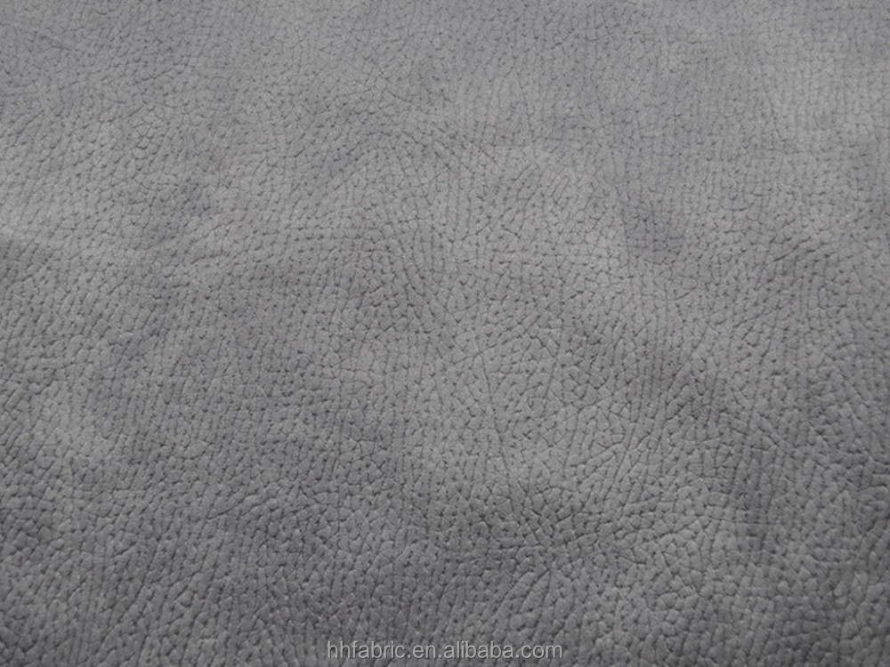 sofa fabric ,100% POLYESTER composite warp suede fabric buy directly from factory