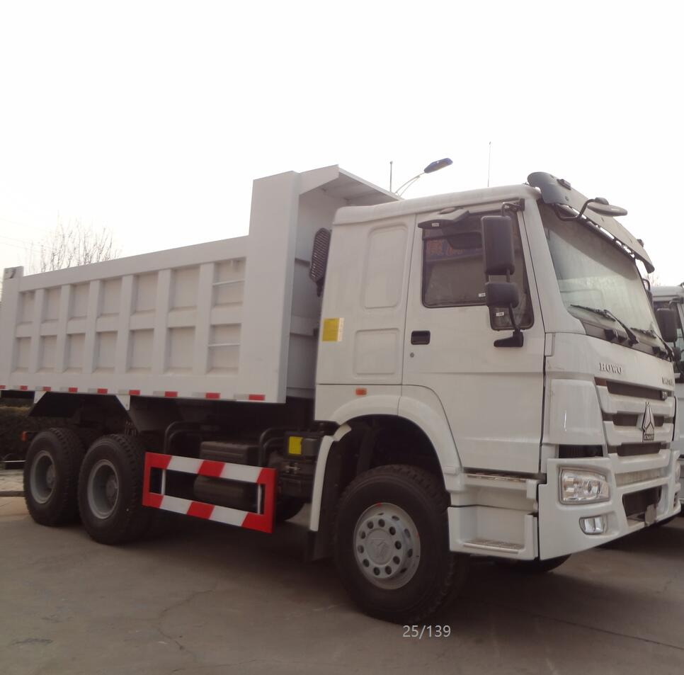 Heavy Duty 10 Roues Sinotruck 6*4 Camion À Benne Basculante