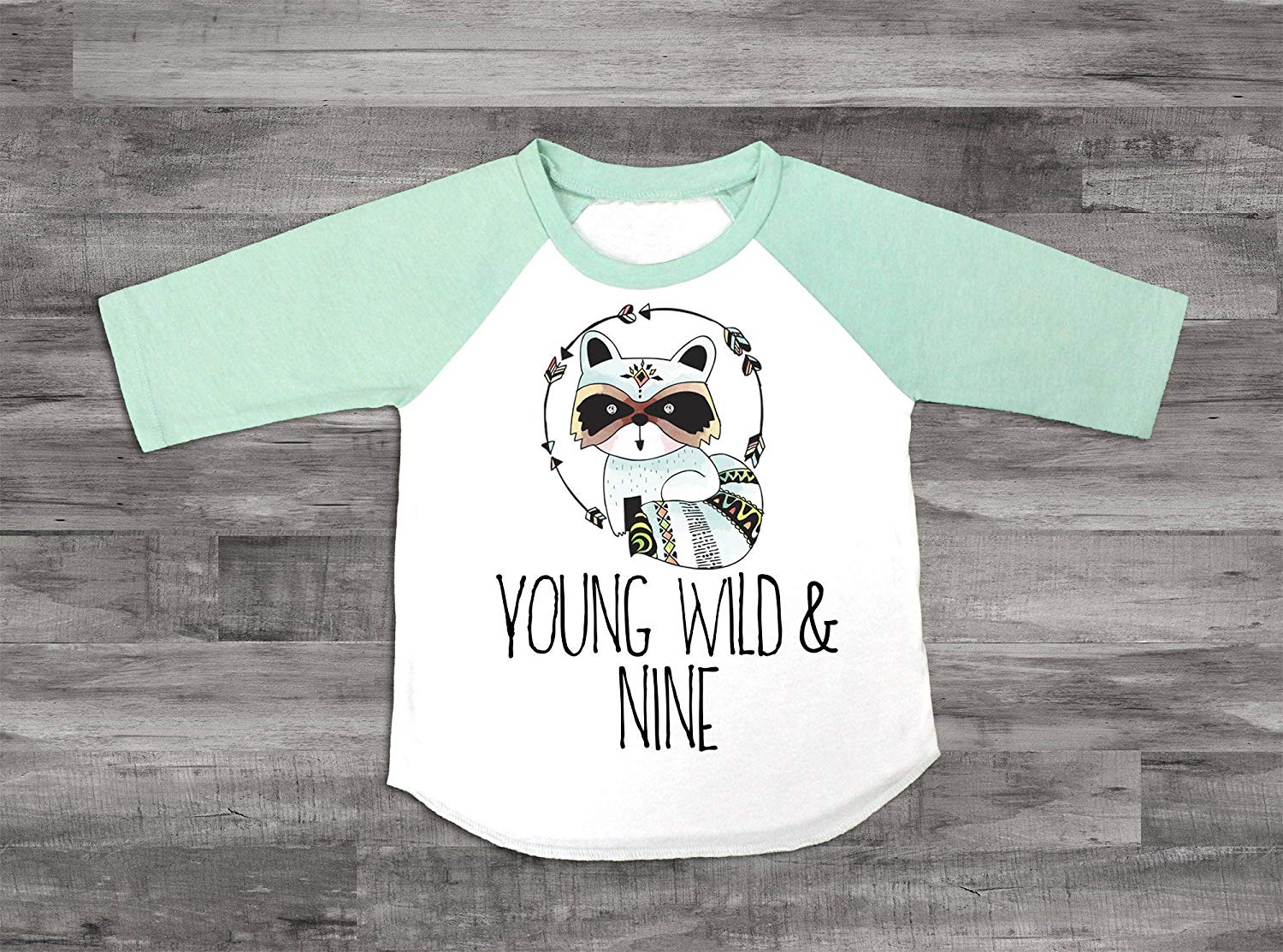 Get Quotations Boys 9th Birthday Shirt Young Wild And Nine Ninth