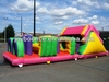 adventure rush kids inflatable outdoor obstacle course