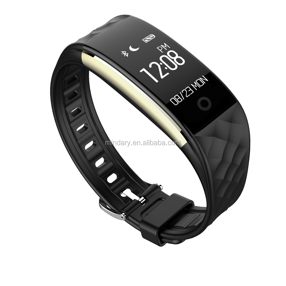 2017 heart rate monitor smart bracelet S2 smart wristband smart band with pedometer function