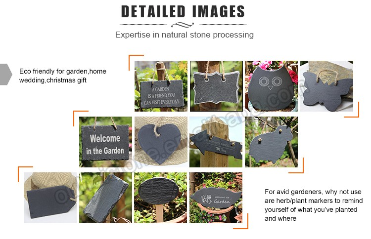 100% natural slate chalkboard with reliable quality for sale