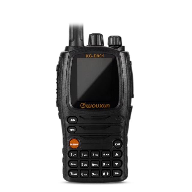वॉकी टॉकी Wouxun KG-D901 UHF 400-470 MHz डीएमआर डिजिटल दो तरह रेडियो 1000 चैनलों 2000 mAh 4 w ट्रांसीवर