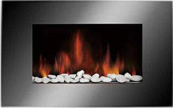 Decor Flame Electric Fireplace Heater