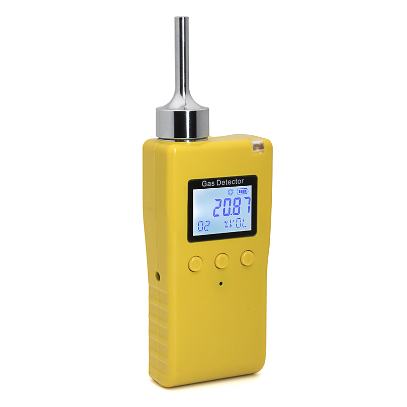 Authorized protection single gas leak detector for hcl cholorine hydride gas leakage tester
