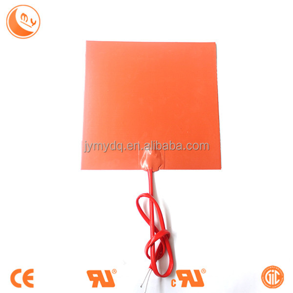 semiconductor process heating Customized Electric Silicone Rubber Heating Pad